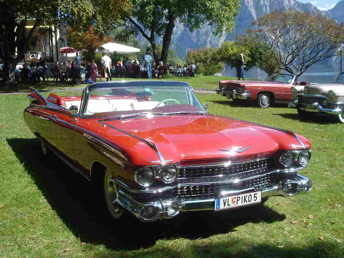 1959 Cadillac Eldorado Vs 1955 Chevrolet Bel Air Gold Eagle Co