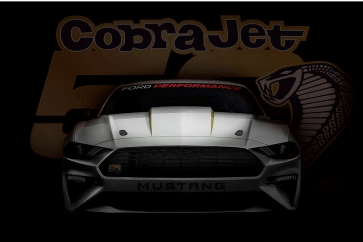 This 2018 Cobra Jet will be going down the quarter mile in the mid 8 second range.