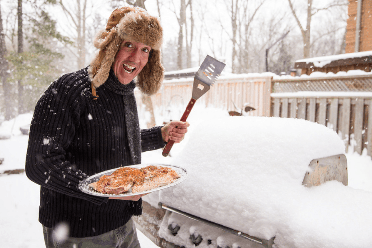 Love to grill? You still need to care for your favorite patio piece in the winter.