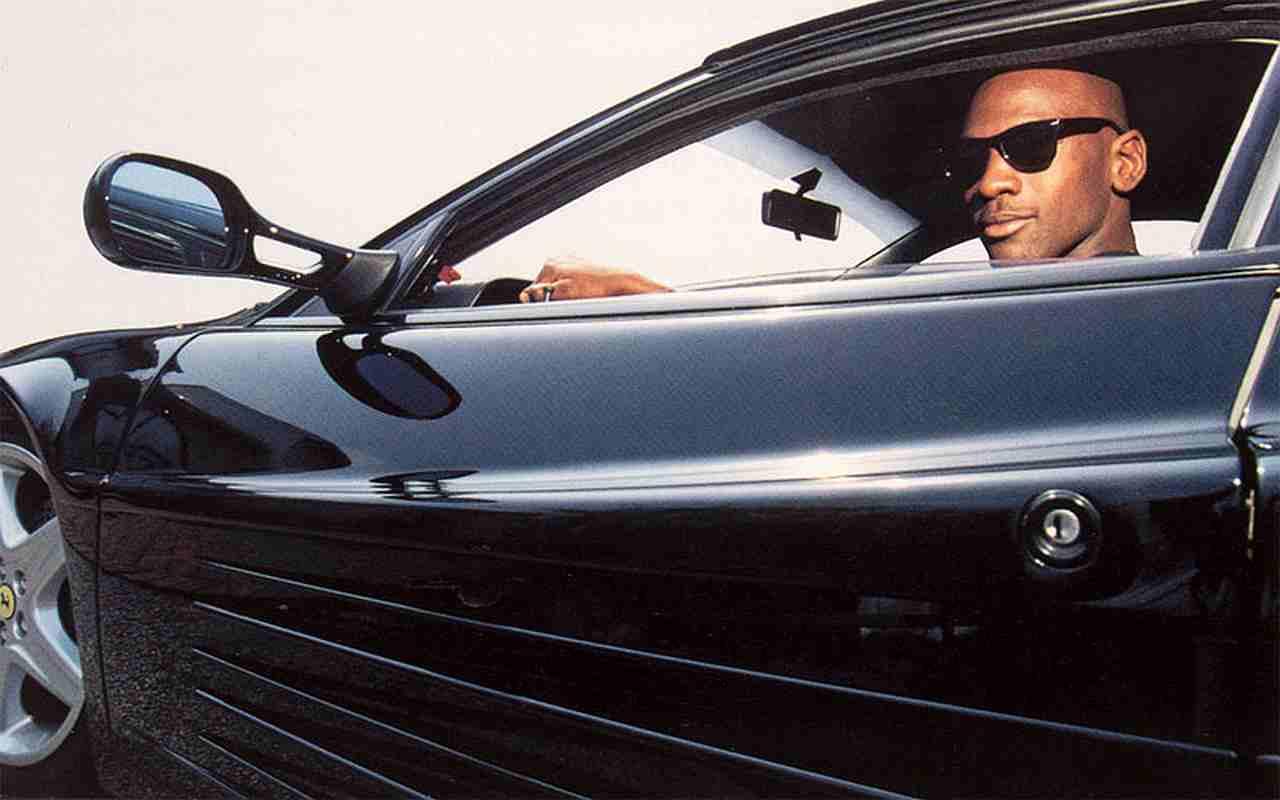 Michael Jordan 1992 FerrariTestarossa