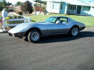 Silver Anniversary Corvette