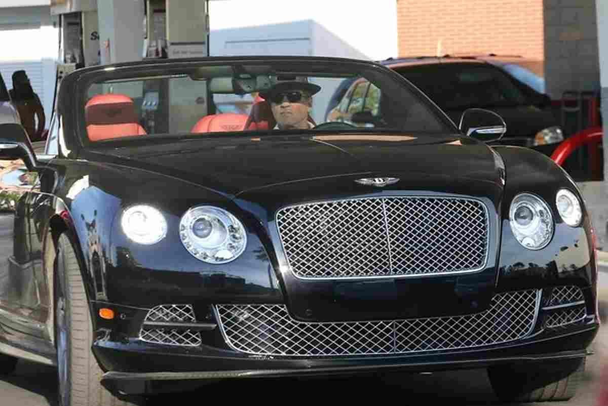 Sylvester Stallone Bentley Continental GTC