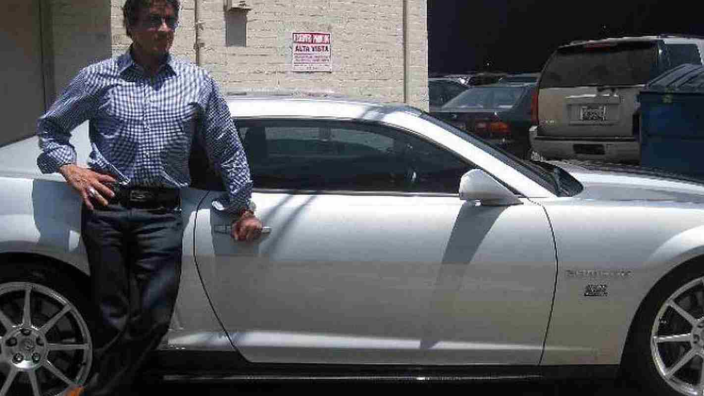 Sylvester Stallone Custom Hendricks Camaro