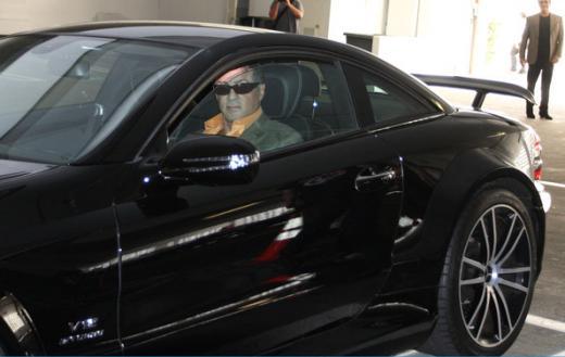 Sylvester Stallone - Mercedes SL65 AMG Black Series