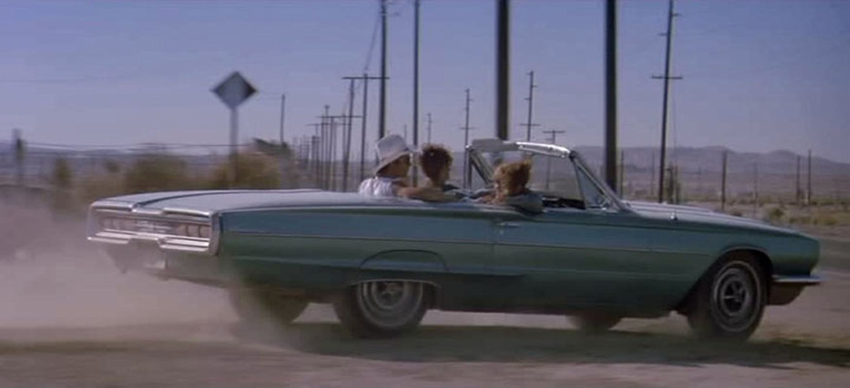 Thelma and Louise 1966 Thunderbird
