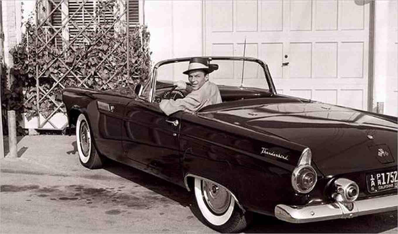 frank sinatra 1955 Thunderbird
