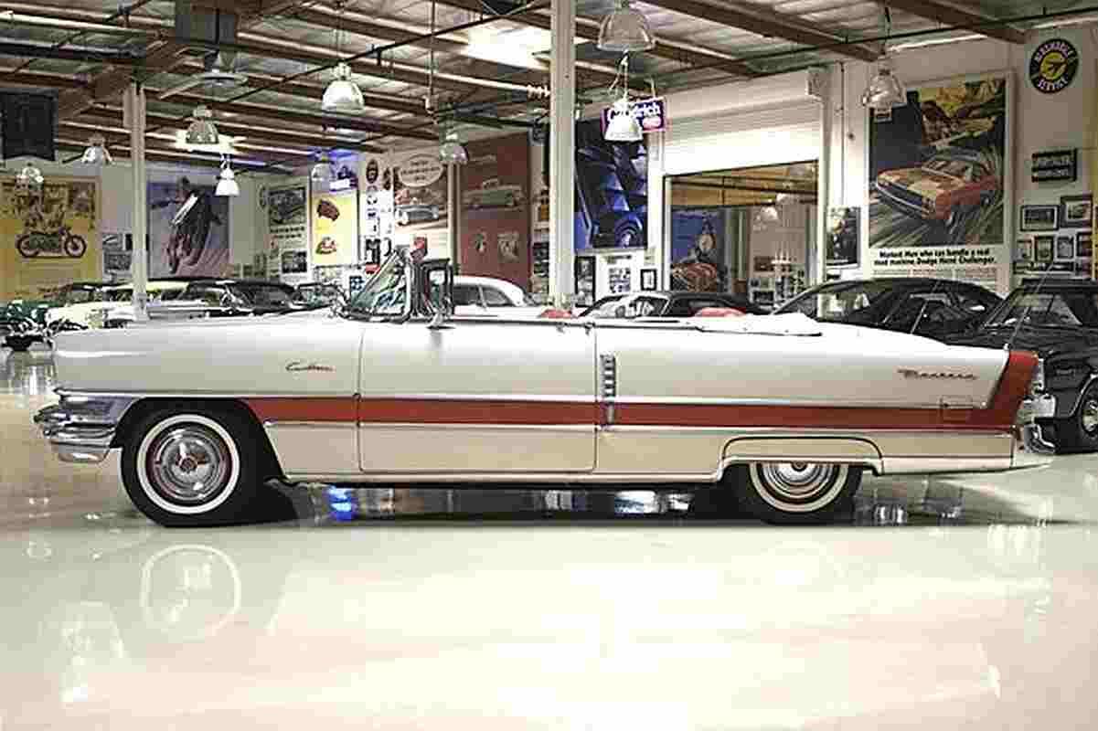 jay leno 1955 Packard Caribbean