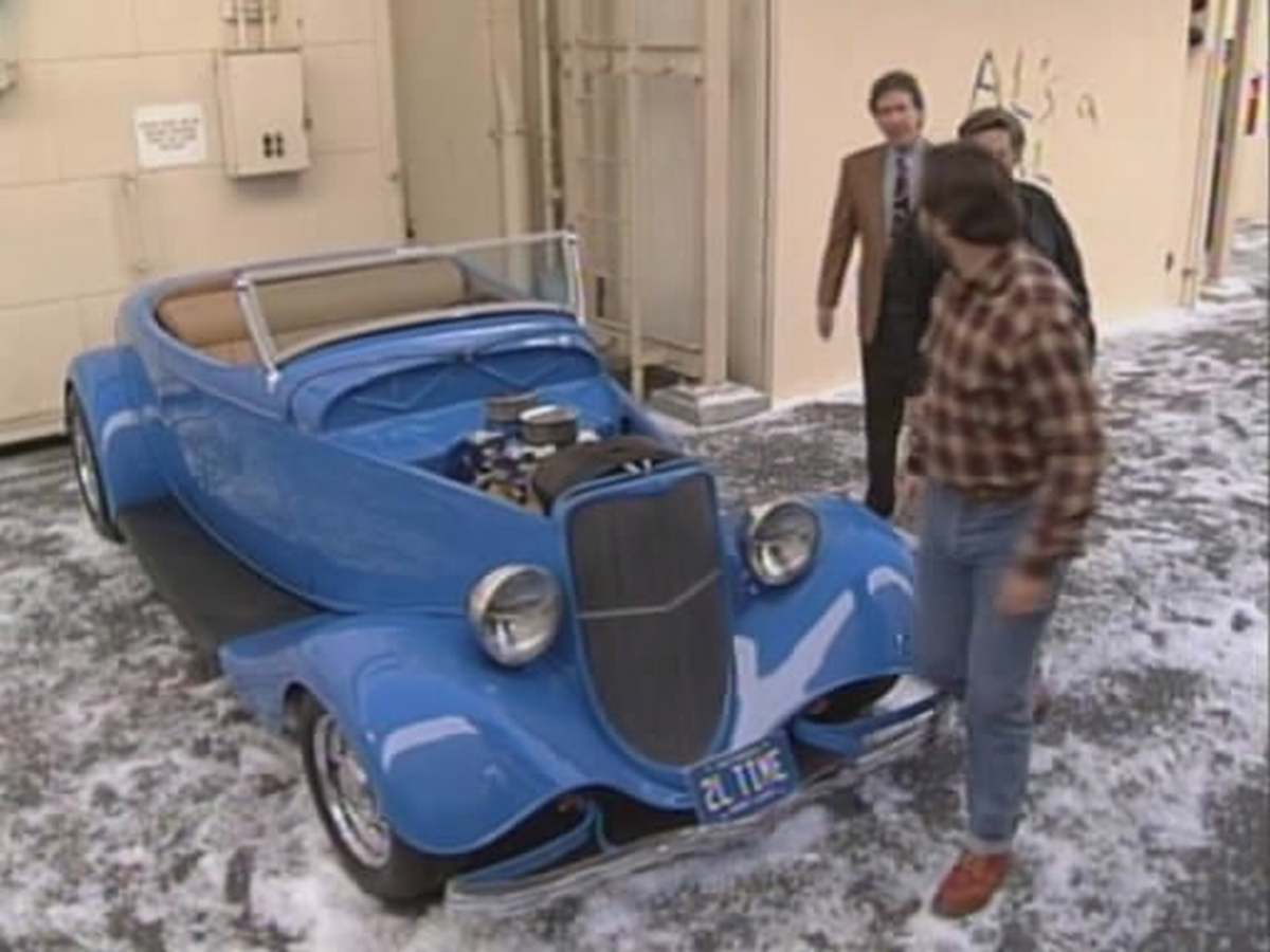 tim allen ford roadster