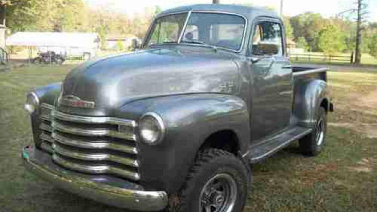 1953 Chevrolet 3100 4x4 | Gold Eagle Co