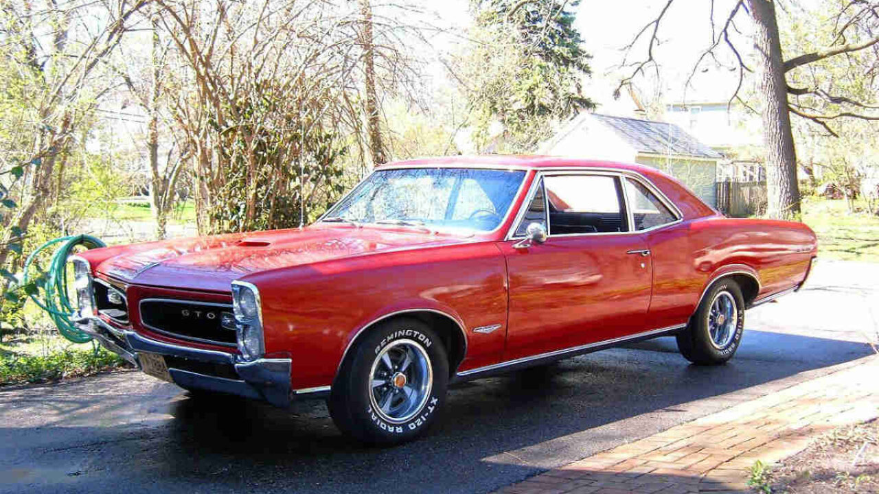1966 Pontiac Gto One Of The Most Popular Muscle Cars In History Gold Eagle Co