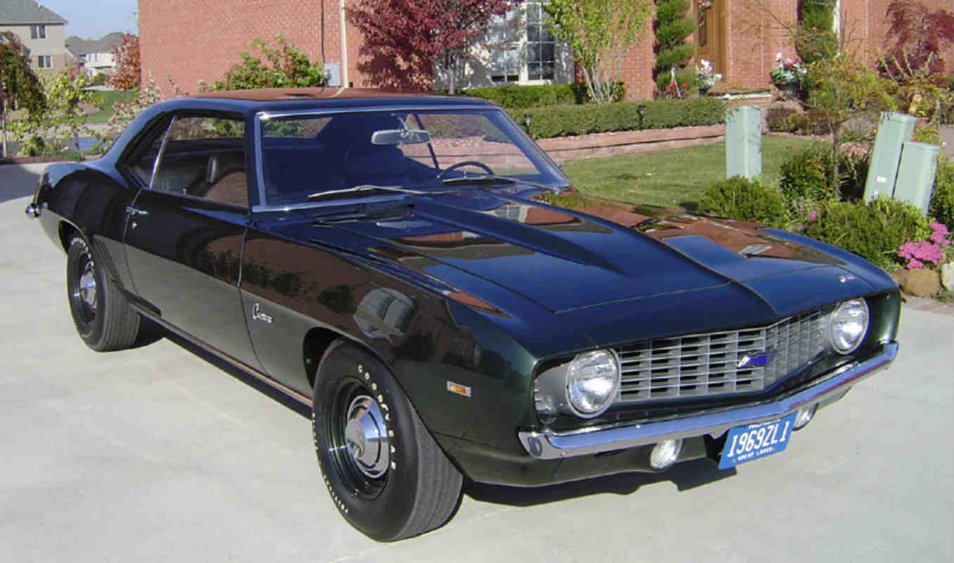 1970 Chevrolet Chevelle SS vs 1969 Chevrolet Camaro zl1 | Gold Eagle Co