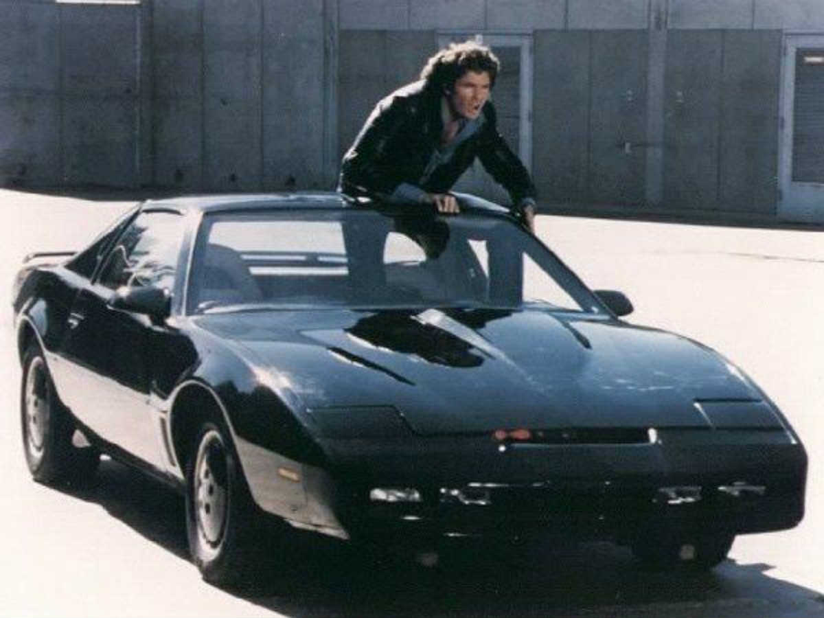 1982 pontiac trans am from the tv show knight rider gold. Black Bedroom Furniture Sets. Home Design Ideas