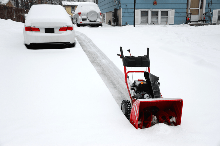 Whether we have to clear off the front walk, plow the driveway, or scrape our car windshields, cold weather requires a ton of work.