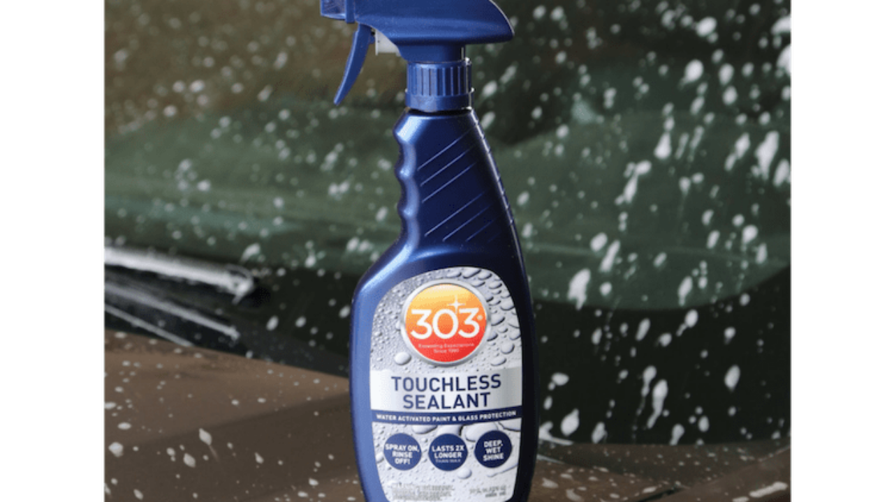 How to Use 303 Touchless Auto Paint Sealant | Gold Eagle Co