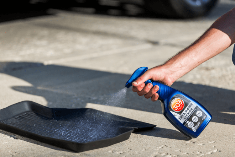 Choose the best when caring for your car - 303 Tire & Rubber Cleaner.