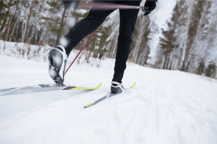 Cross country skiing is all about propelling oneself across uphill and flat terrain on skis.