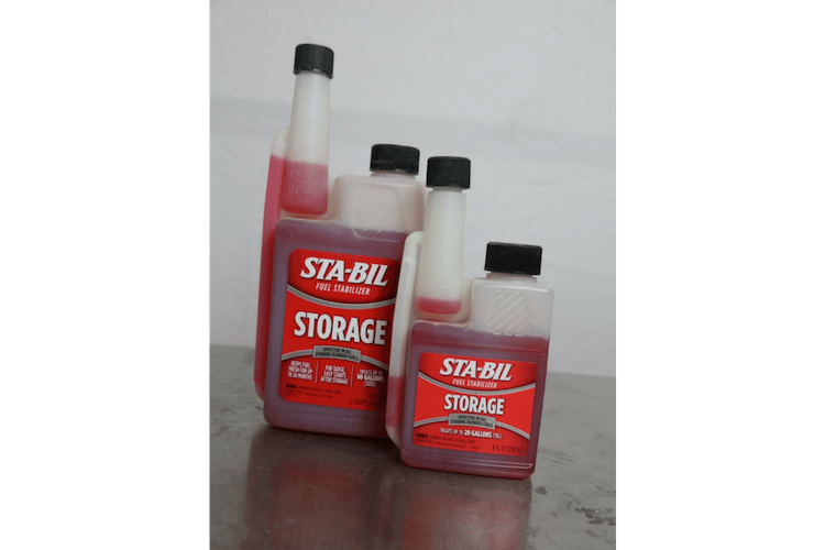 Fuel does not last forever, especially when the temperatures are changing, which often leads to water condensation in your fuel tanks. Sta-Bil Fuel Stabilizer for Storage is the perfect solution.