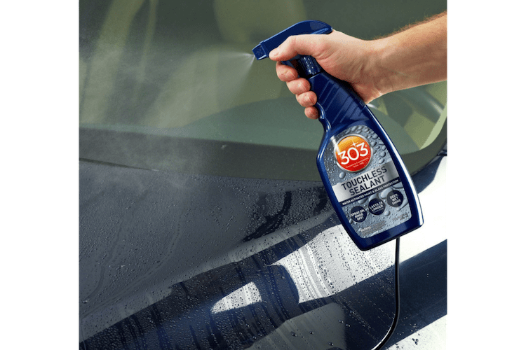 Touchless sealants often outperform even the best spray wax.