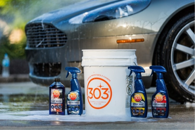 Professional vehicle detailers keep all of these products on hand to help them save time on the job.