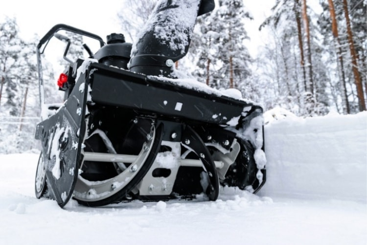 If you live in an area that gets a lot of snow, you probably have a snow blower that helps save your sanity during the winter.