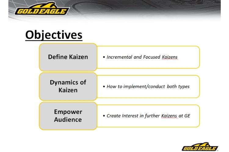 Kaizen Objectives