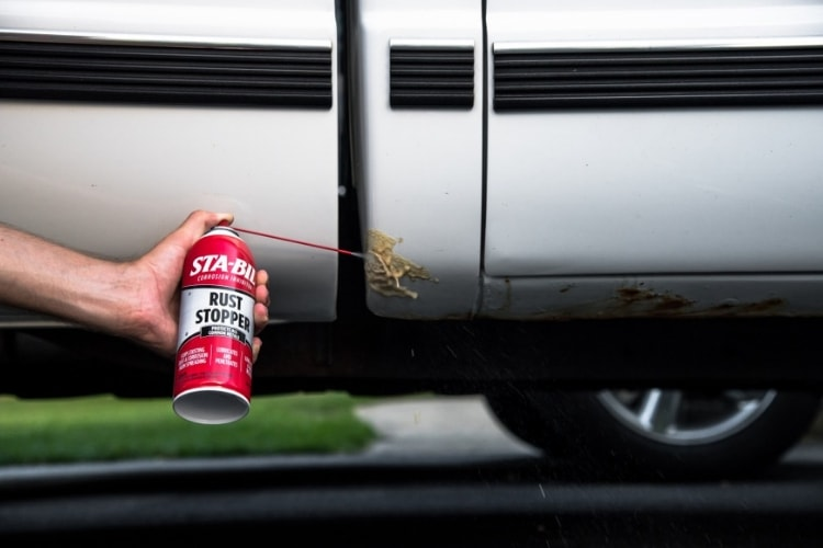 STABIL Rust Stopper adds a protective coating to any metal surface in order to prevent rust and corrosion.