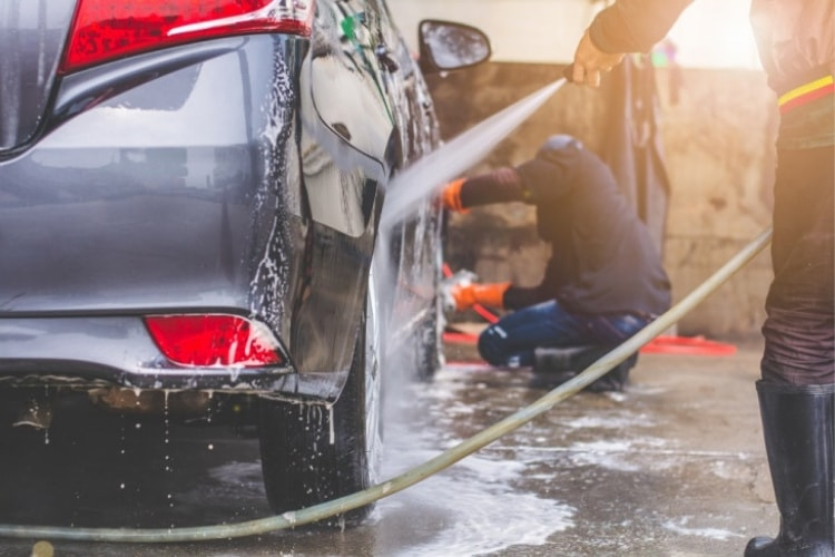 Spring car care tips range from applying tire balm and detailing the exterior, to cleaning the interior and checking under the hood.