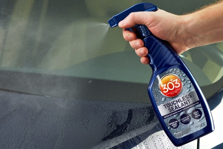 303 Touchless Sealant will save you time and money when it comes to providing UV protection to your vehicle.
