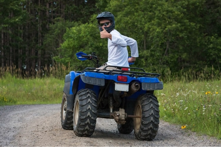 Protecting your ATV's surfaces from UV damage can be easily done with 303 Aerospace Protectant.