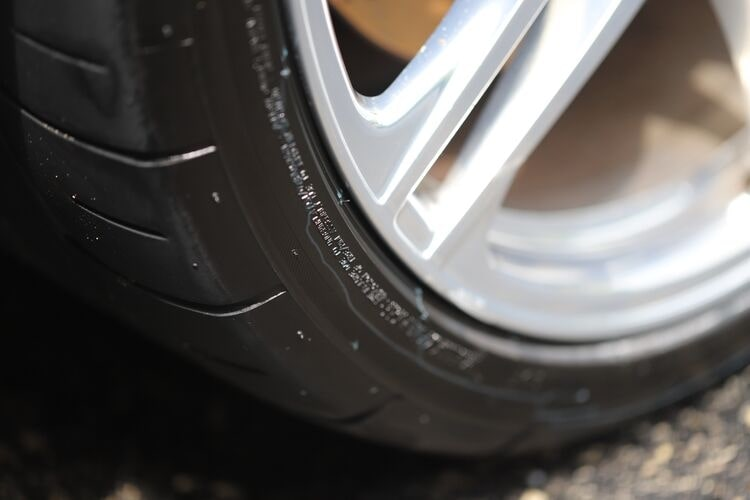 Tire dressing protects the surface of the tire.