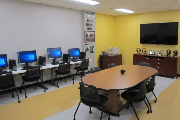 hirsch learning center interior min