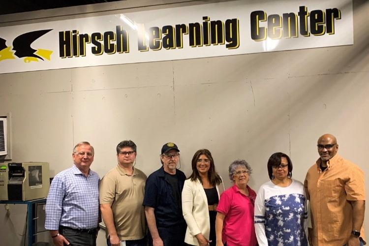 hirsch learning center opens min