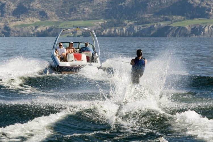 Ski boats are constantly stopping and starting - and this puts extra strain on your engine.