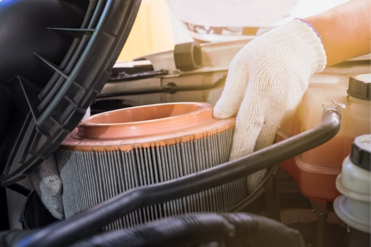 Changing the air filter in your car is easy enough to do yourself in just a few short steps.