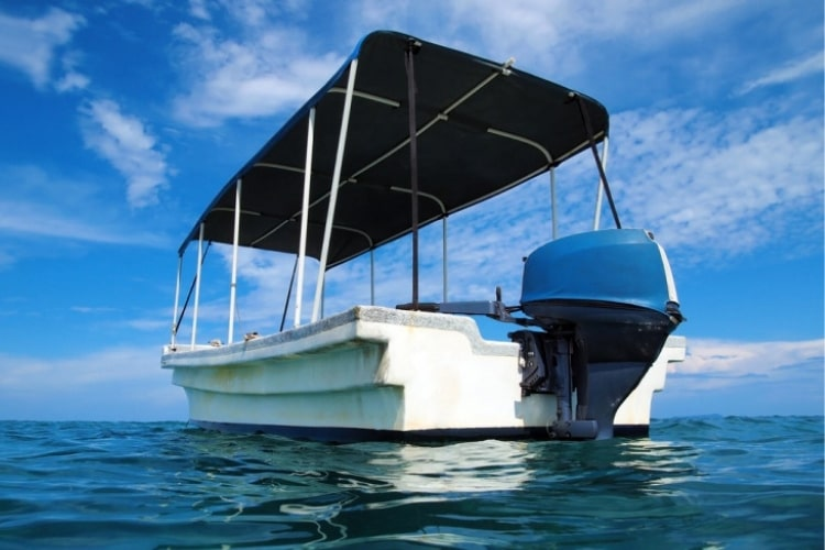 We'll tell you how to easily clean a Bimini top on your boat.