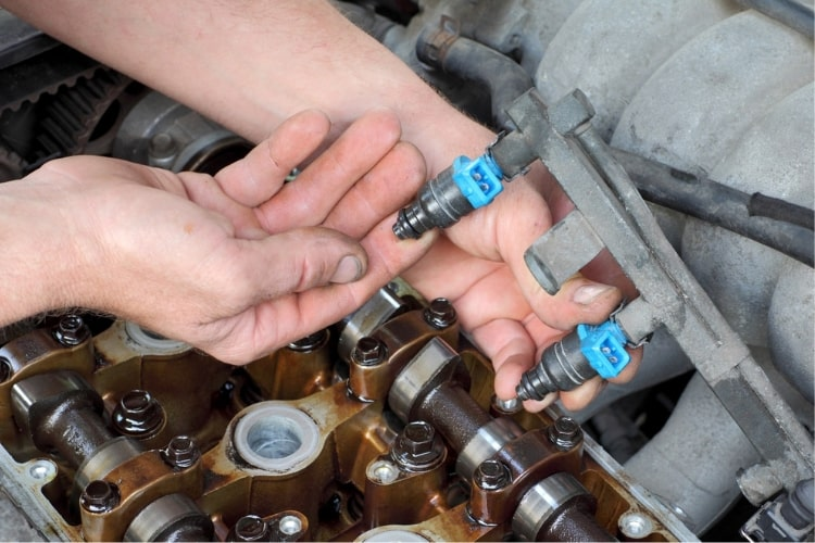 Clogged fuel injectors reduce engine performance in many ways. They are responsible for a variety of engine woes.