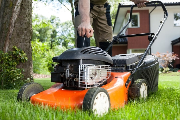 Ensure that your old lawn mower still works as good as possible.