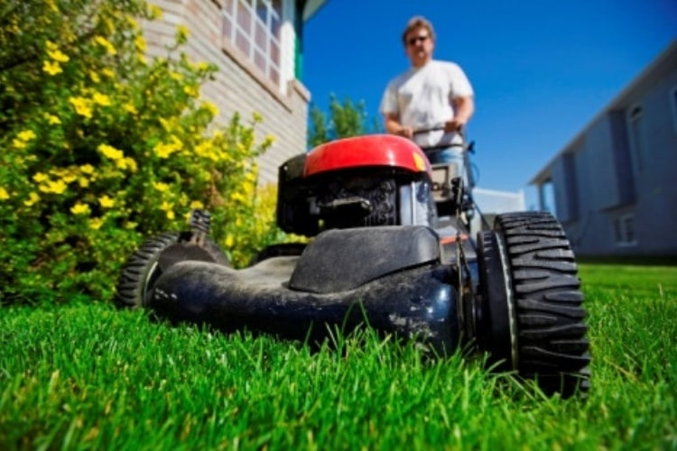 An old lawn mower can still provide you with many years of reliable service.