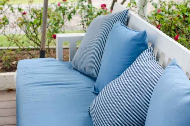 Outdoor fabric doesn't have to be difficult to maintain or keep looking new.