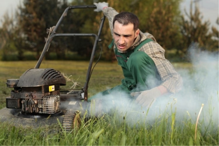 Check the fuel filter in your lawn mower often.
