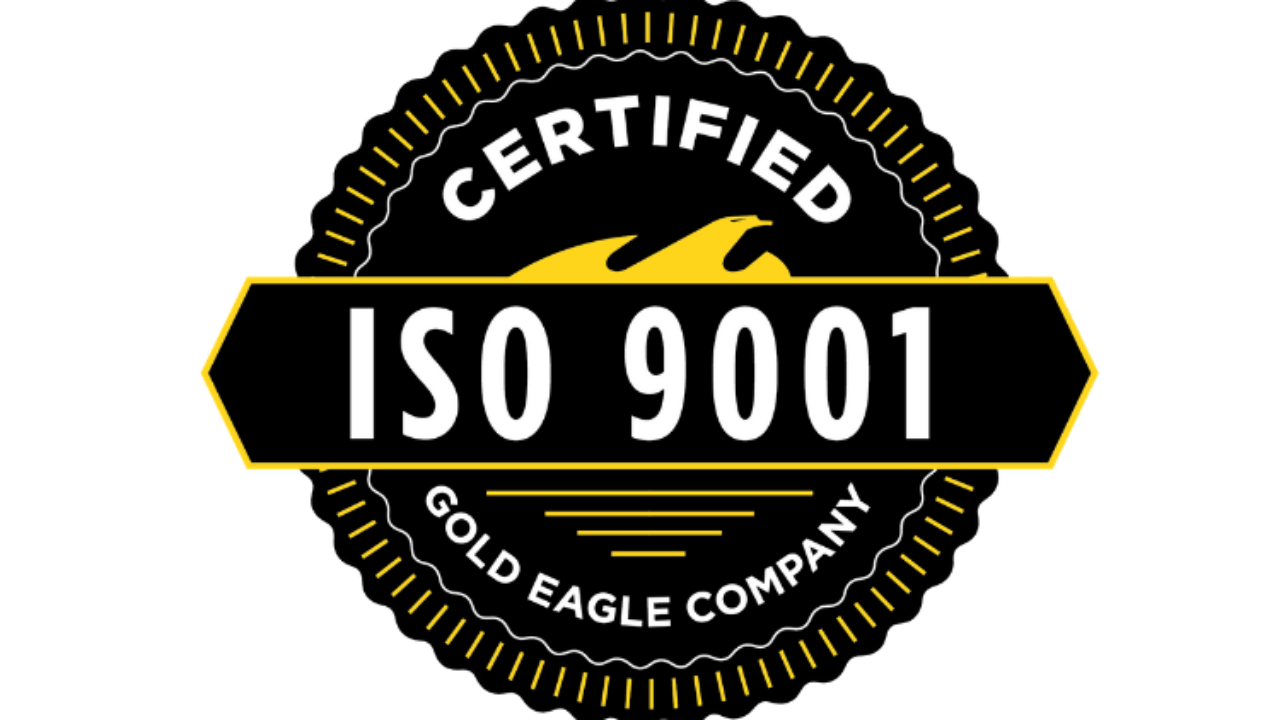 iso 9001 certification eagle obtains