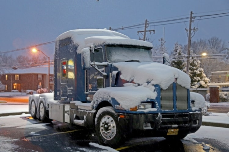 Diesel fuel gelling is common in colder temperatures, and can be avoided by using a diesel fuel additive.
