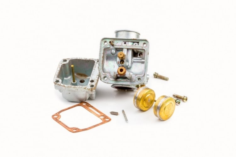 A common issue with failing lawn mowers is the carburetor needing some basic maintenance.