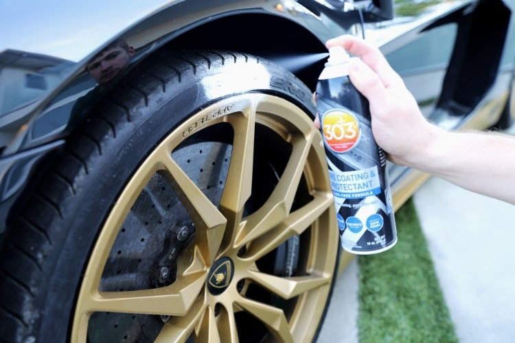 30393 303 tire coating application shot min