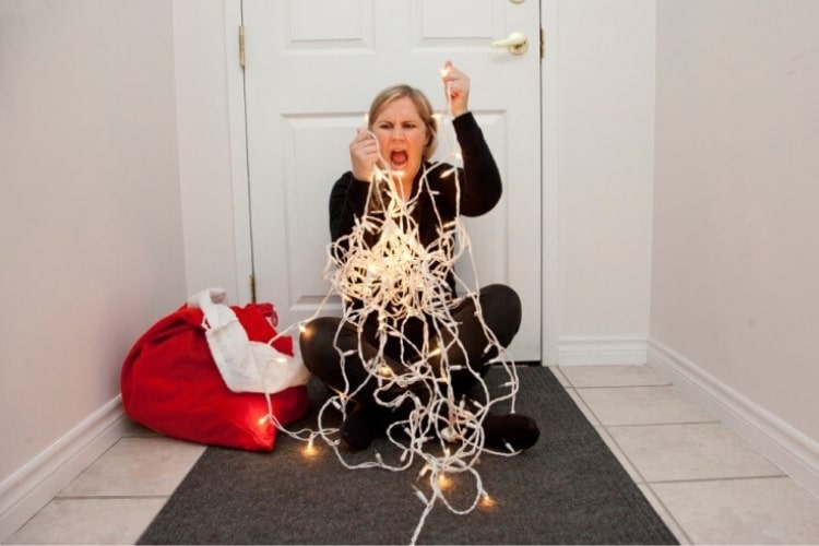 One of the biggest downsides of the holiday season is dealing with numerous strands of tangled Christmas lights!