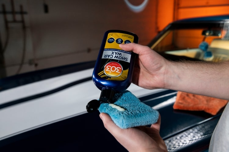 30225 303 show car wax application 3 min