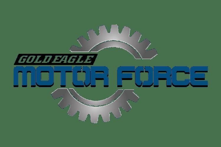 Gold Eagle Motor Force Logo