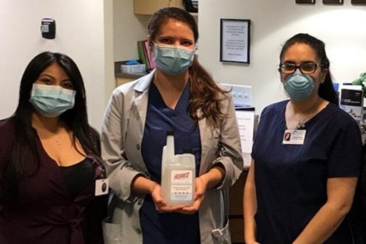heroes hand sanitizer medical group min