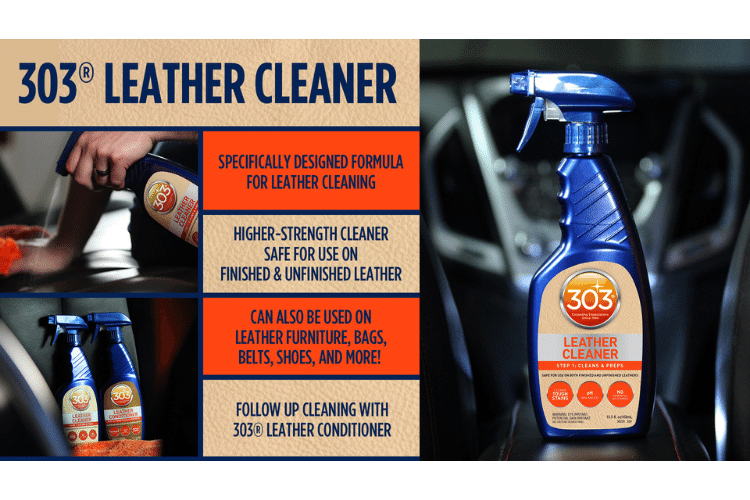 30230csr 303 leather cleaner infographic min