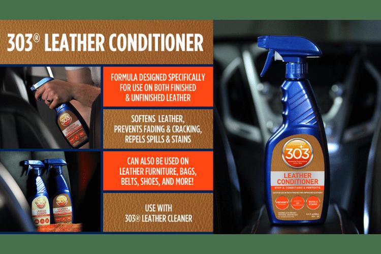 30231csr 303 leather conditioner infographic min